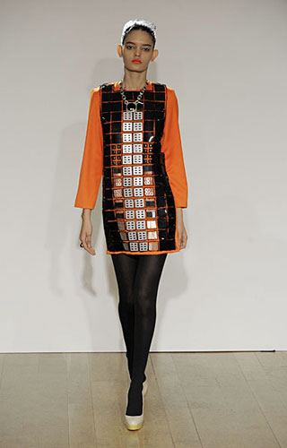 Holly Fulton Fall / Winter 2010 runway collection at London Fashion Week