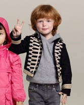 Stella McCartney for GAP Kids military jacket