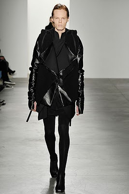 Rad Hourani menswear look Fall / Winter 2010 from his New York Fashion Week show.