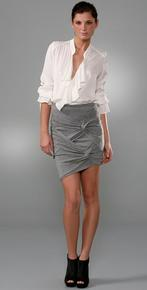 Robert Rodriguez Twist Knot Pencil Skirt from ShopBop is an interesting touch to freshen the vintage look