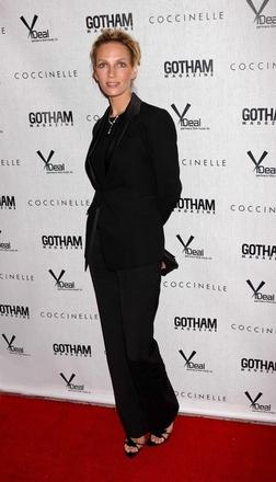 Uma Thurman at the NY screening of Motherhood, the movie