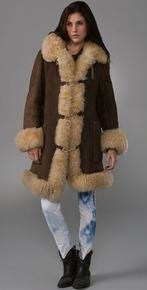 WGACA Vintage - Vintage Shearling Coat at ShopBop