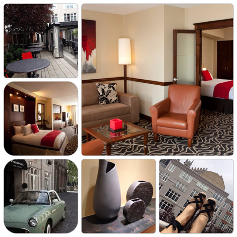 Le Saint Sulpice Hotel Montreal where the staff is as attentive as the hotel is appointed.