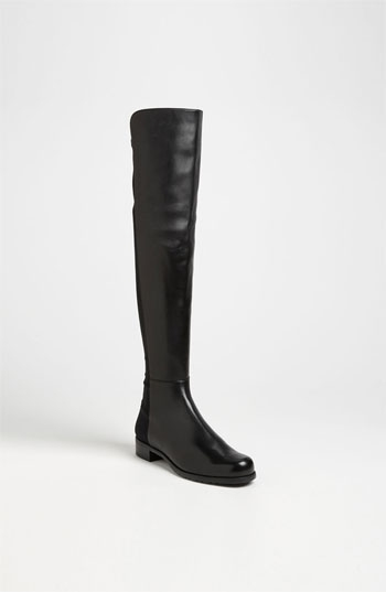 Pictured at top and here, Stuart Weitzman '5050' Over the Knee Nappa Leather Boot at Nordstrom's