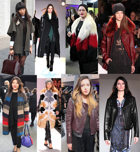 Best Outerwear- Fashion Week Street Style & Runway, Day One