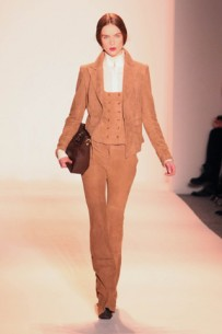 The marriage of Boho and Classic, right this way: Rachel Zoe Fall 2013 Runway Trends