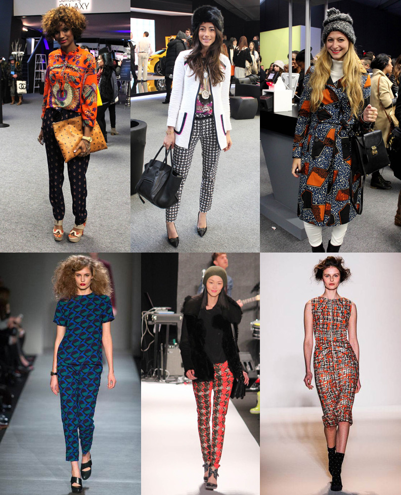 Prints Please! – Fashion Week Street Style & Runway