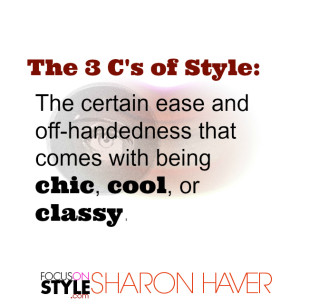 The 3 C's of Style