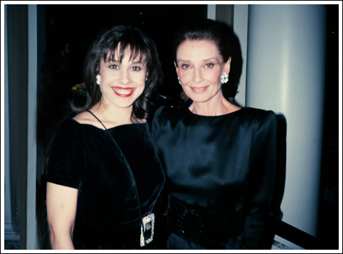 I was honored to meet my style icon, Audrey Hepburn