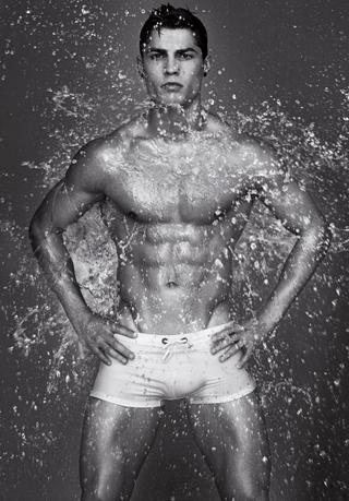 Cristiano Ronaldo - the new face of Emporio Armani Underwear and Armani Jeans