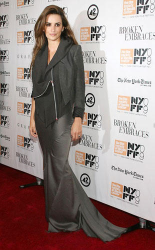 Penelope Cruz at the 47th Annual New York Film Festival for her film