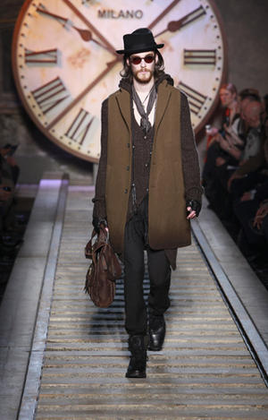 John Varvatos Fall 2011 runway