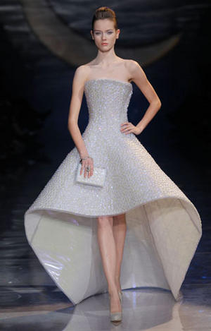 GIORGIO ARMANI PRIVE, Spring / Summer 2010, Paris Couture Fashion Week,